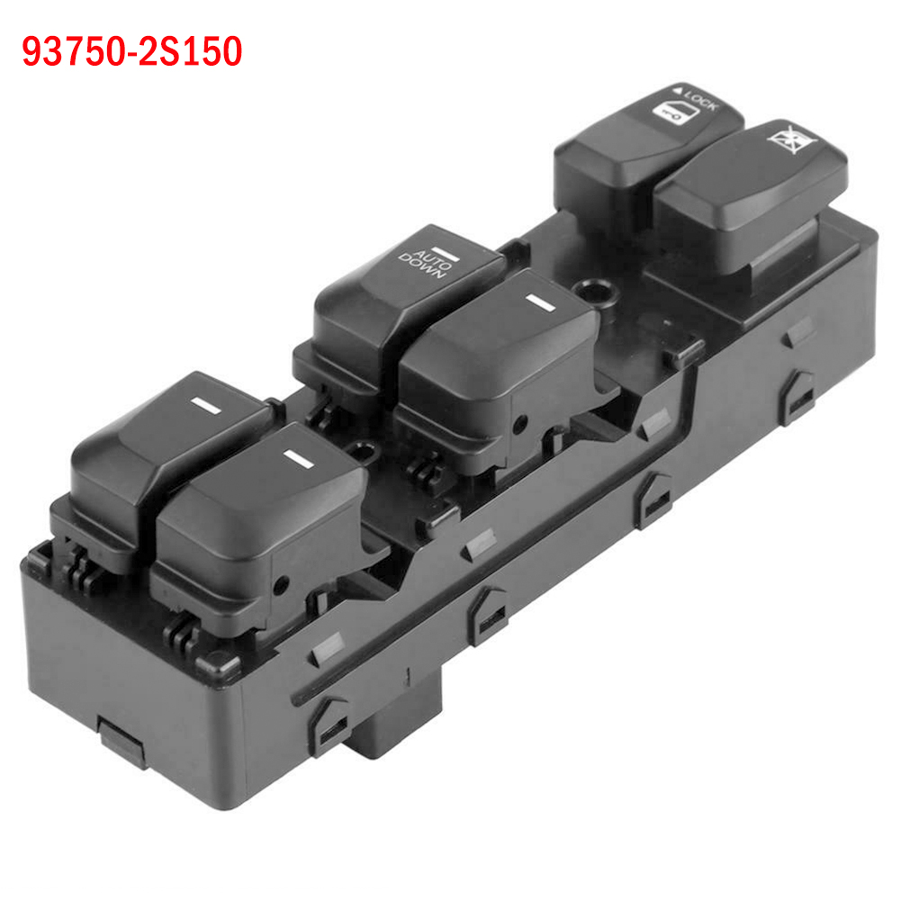 Left Hand Driver Power Master Window Switch For Hyundai Tucson 2.0L 2.4L 2010-2015 93750-2S150 93570 2S1509P Car Window Switch