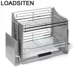 Rack Cabinet-Basket Cupboard Storage Pantry Organizer Cuisine Kitchen Hanging Drawer