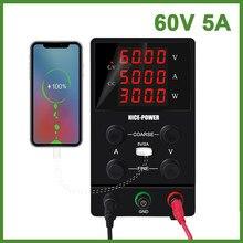 O mais novo interruptor dc fonte de alimentação do laboratório 30v 10a fontes de alimentação tensão ajustável e regulador de corrente 60 v 5a tensão regulada