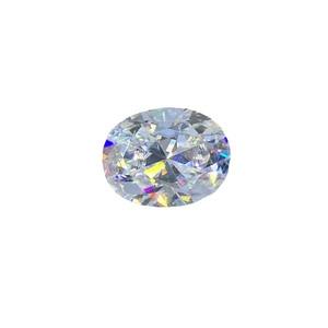 Image 5 - Poetry Of Jew Store Oval Moissanite2.00ct D VVS barestone custom Moissanitering Pendants for naked diamond