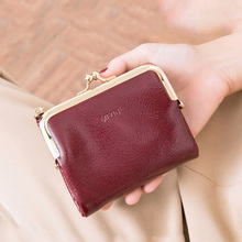 New Women pu Leather Wallets Short Hasp Purses for Ladies Portable Money bags Female Large Capacity Card Holders Clutch 2021