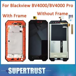 Без/с рамкой оригинальный для Blackview BV4000 BV4000 Pro ЖК-дисплей сенсорный экран Сенсорное стекло дигитайзер сборка