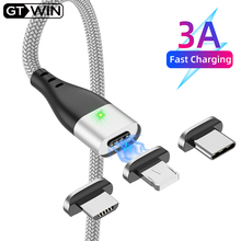 Legend Coupon GTWIN-Magnetic-Micro-USB-Cable-Fast-Charging-Type-C-For-Huawei-P30-Pro-Mate-30-Magnet.jpg_220x220