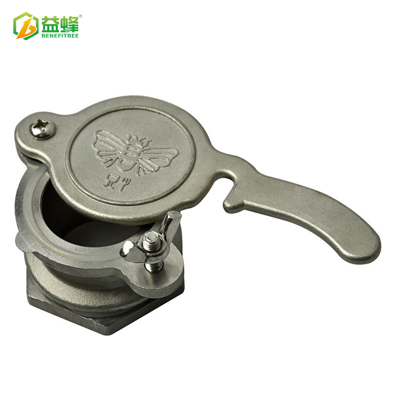 Yi Feng Beekeeping Tools Stainless Steel Honey Outlet Tap Dumped Honey Machine Honey Flow Mouth Honey Extractor Valve Beekeeping