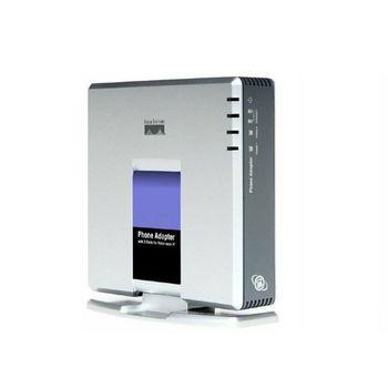 1 zestaw bramka VOIP 2 porty protokół SIP V2 telefon internetowy Adapter głosu z kablem sieciowym do wtyczki Linksys PAP2T AU EU US UK tanie i dobre opinie Lenovo CN (pochodzenie) 108 mbps