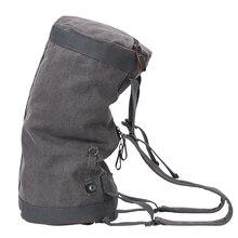 Брендовая большая Вместительная дорожная сумка мужской альпинистский рюкзак мужской багаж водонепроницаемый холст ведро сумки на плечо мужские рюкзаки