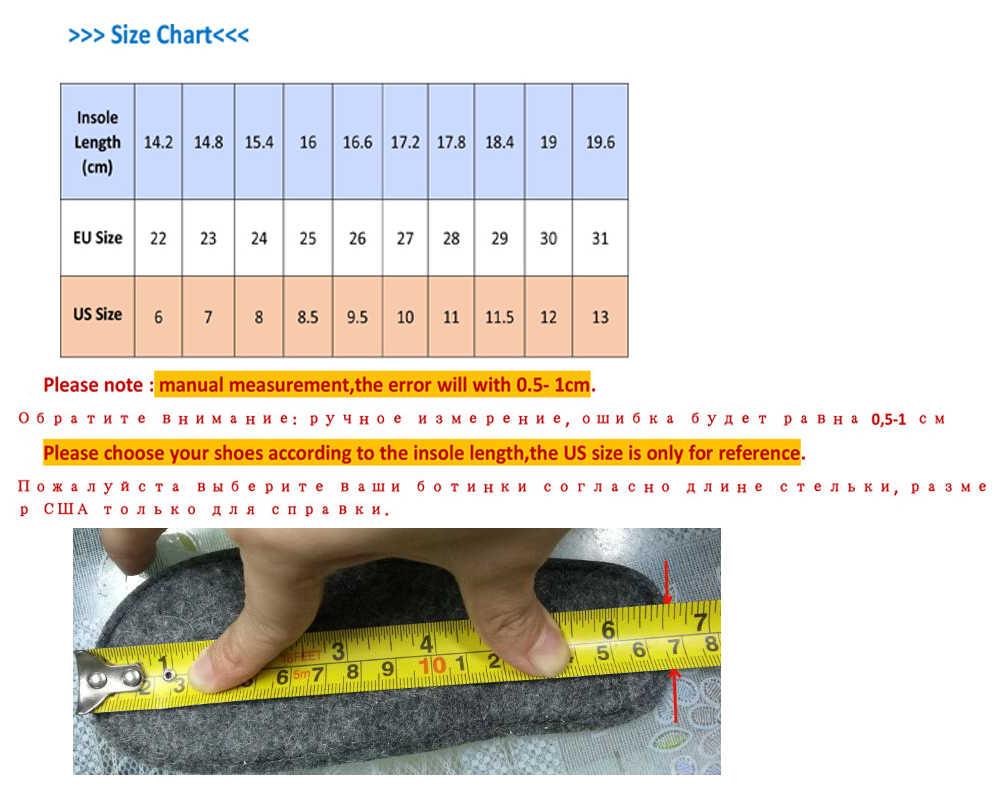 Ortoluckland yeni kızlar ayakkabı küçük bebek sonbahar kış çizmeler çocuk ortopedik ayakkabılar bahar düz ayak ortopedik yarım çizmeler