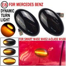 LED بدوره مكرر إشارة مصباح ديناميكية الجانب ماركر ضوء ل W450 W452 مرسيدس بنز الفئة أ W168 فيتو W639 W447 Citan W415