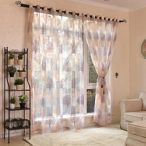 Japanese Style Tulle Window Curtains For Living Room Bedroom Kitchen Window Sheer Curtains Home Decor Voile Curtains