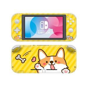 Image 4 - Siberian pies rasy Husky NintendoSwitch skórka naklejka naklejka pokrywa dla Nintendo przełącznik Lite Protector przełącznik do Nintendo Lite skórka naklejka