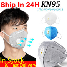 5/10/20pcs KN95 Mouth Mask Anti Pollution Dust Respirator N95 Masks Cotton Mouth Muffle Anti ffp2 ffp3 kfp4 Dust Gas Mask 500pcs kn95 face mask n95 ffp2 pm2 5 anti pollution mask filter non woven disposable masks for germ dust protection pack