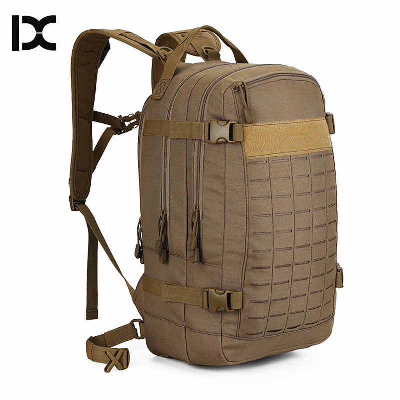 Camping Hiking Backpack Military Tactical Bags Outdoor Rucksack Backpacks Army Molle System Bag Assault For Hunting Pack XA507WA