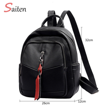 2019 Women Backpack Multifuction Female Backpack Casual School Bag For Teenager Girls High Quality Leather Shoulder Bag For Lady yeetn h women backpack fashion for teenager girls cute backpack beautiful bag pu leather lady school bag free shipping y1164