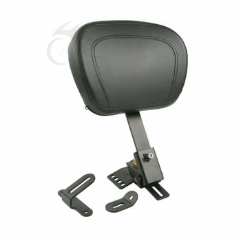 Motorcycle Driver Rider Backrest Pad For Harley Touring Road King Electra Glide Road Glide Street Glide 1997-2019