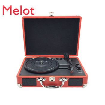 Record Player Disk Reproducer Vinyl Living Room European-Style Decoration Portable Bluetooth Speaker
