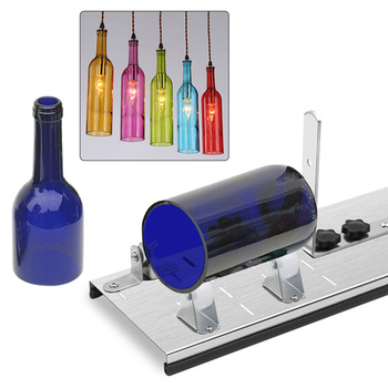 Glass Bottle Cutter Stainless Steel DIY Tool Wine Beer Bottles Crafts Wine Beer Liquor Bottle Cutting pair of fashionable beer bottle and wine glass shape alloy cufflinks for men
