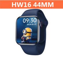 Oryginalny HW16 Smart Watch Series 6 44mm 1 72 #8222 HD bluetooth otrzymać telefon zwrotny od niestandardowy zegarek twarz Monitor zdrowia inteligentny podzielony ekran inteligentny zegarek tanie tanio GOLDENSPIKE CN (pochodzenie) Brak On Wrist All Compatible 128 MB Krokomierz Rejestrator aktywności fizycznej Poprawiające nastrój