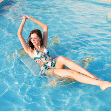 Adult pool floats Inflatable swimming circle ring transparent swimming mattress PVC floating Chair pool toys beach buoy float new mermaid swimming ring adult pool floats inflatable buoy rubber rings flamingo donut circle women giant float pool toys