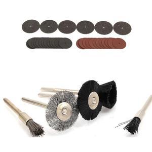 Image 3 - 343 Pcs Schuren Disc Bit Set Mini Boor Rotary Tool Fit Dremel Slijpen, Carving, polijsten Tool Sets Elektrische Grinder Accessoires