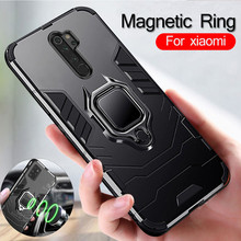 Magnetic Ring back case For xiaomi redmi note 8 pro 8t 8a 5
