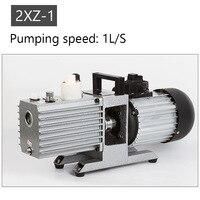 Drehschieberpumpe Zwei-bühne labor 2XZ-4 saug pumpe Industrielle klimaanlage vakuumpumpe