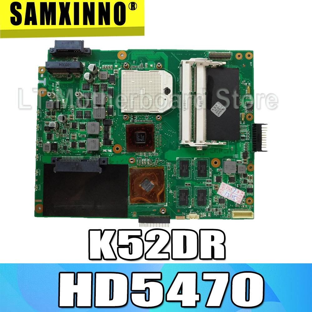 Материнская плата K52DR HD5470 4, материнская плата для ASUS A52DE K52DE A52DR K52D, материнская плата для ноутбука K52DR, материнская плата K52DR, тест на материнскую плату OK
