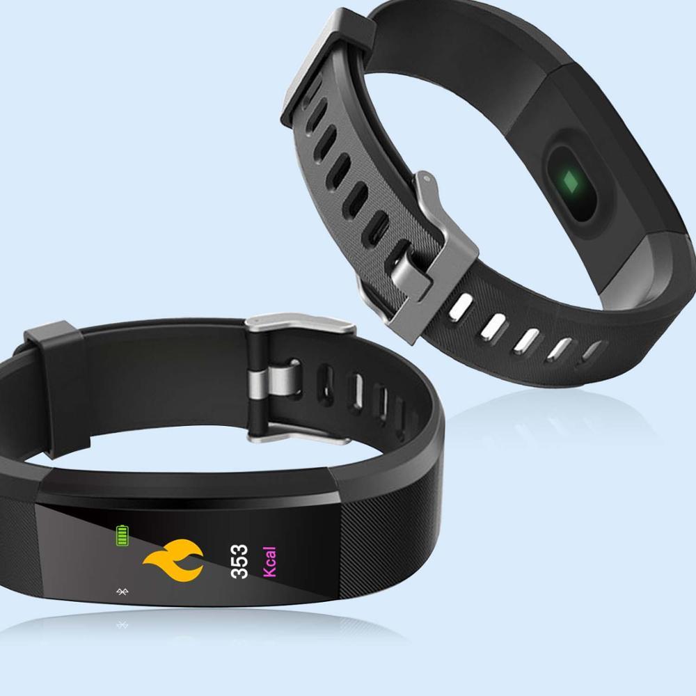 Смарт Браслет сердечного ритма крови Давление смарт-Браслет фитнес-трекер Smartband Шагомер Bluetooth браслет для fitbits Смарт-часы