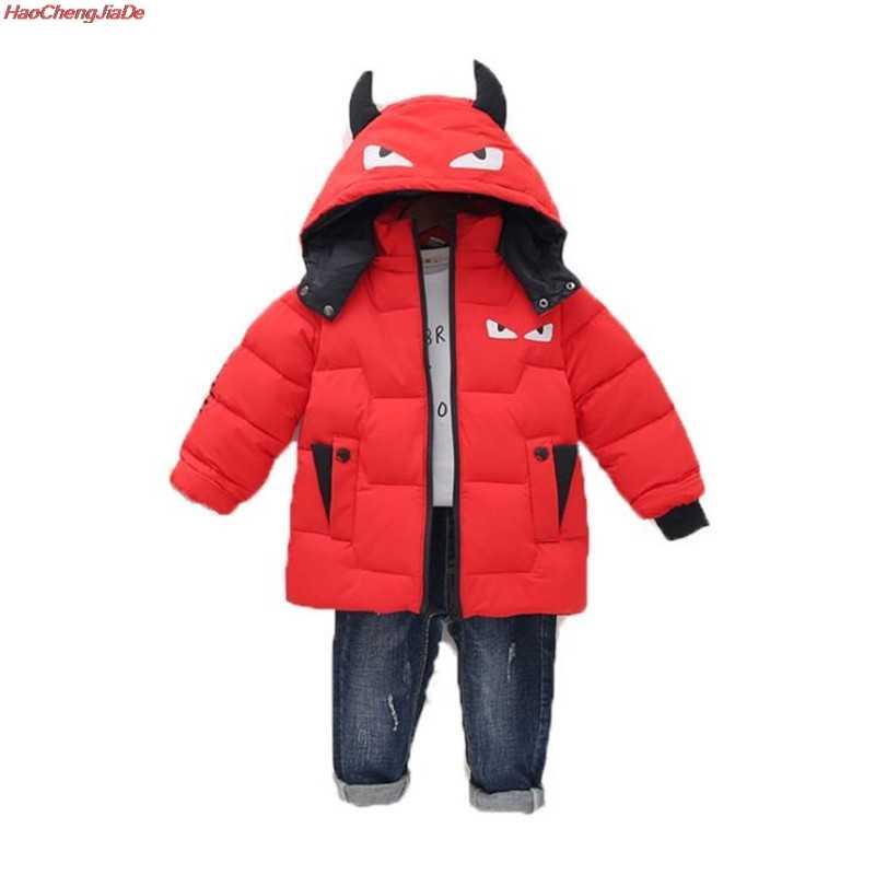 Ropa de invierno Niño Niñas 4 cálido 5 grueso 6 invierno 7 chaqueta 8 Escuela Media 3 AÑOS NIÑOS abrigo chaqueta de invierno para niños