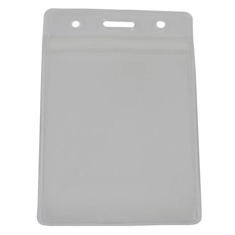 PVC Material Certificate Holder Plastic Factory Card Case Various Specifications Label Cover Horizontal Seal Transparent School