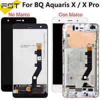 100% Testato Per BQ Aquaris X/X Pro Display LCD + Touch Screen Digitizer Assembly Sostituire Le Parti Per BQ X Pro Pannello LCD Tactil