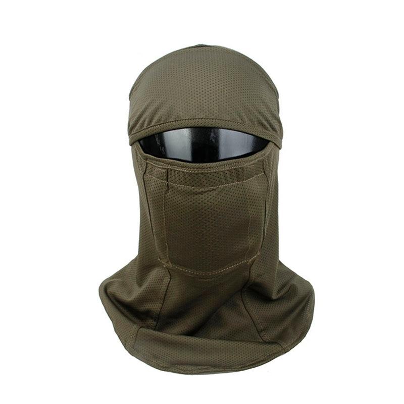 H258eb70958224abc8d69b56baef1ce73E TMC3267 CS Tactical Camo Head Cover Metal Mesh Balaclava Full FaceMask Sunscreen Dust-proof Full-wrapped Headscarf Free Shipping