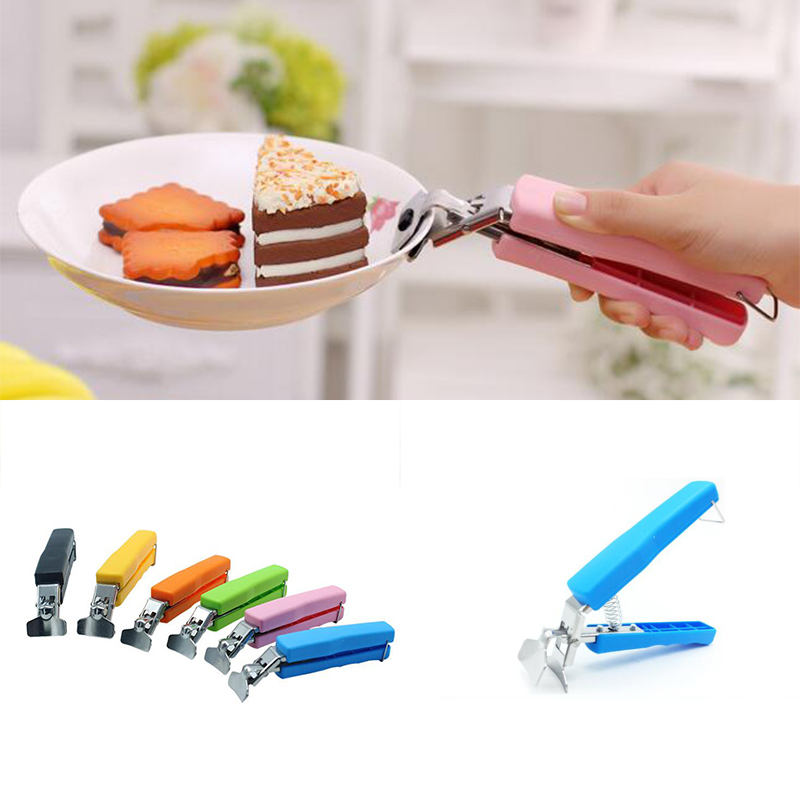 Anti-Hot Bowl Plate Clip Gripper Kitchen Cooking Tool Picnic Random Color