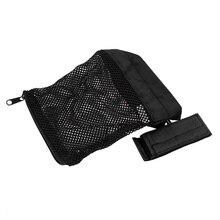 Tactical Brass Shell Catcher Military Gear Holder Mesh Trap Nylon Mesh Zipper Bag Bullet Pack Hunting Gun Accessories