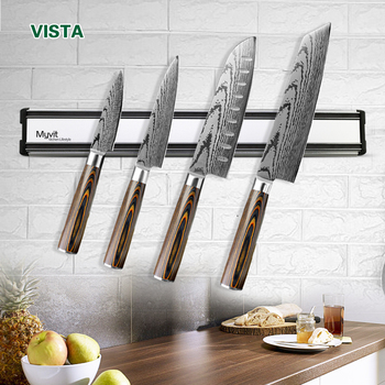 Magnetic Knife Holder Wall Mount Block Storage Holder Strong Magnetic knife stand Kitchen Accessories Organizer