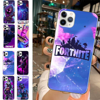 Fortnite Protective Case Game Theme Phone Cover for IPhone 11 Pro XS 8 7 6 Plus Fortress Night Silicone Soft Shell Phone Case 1