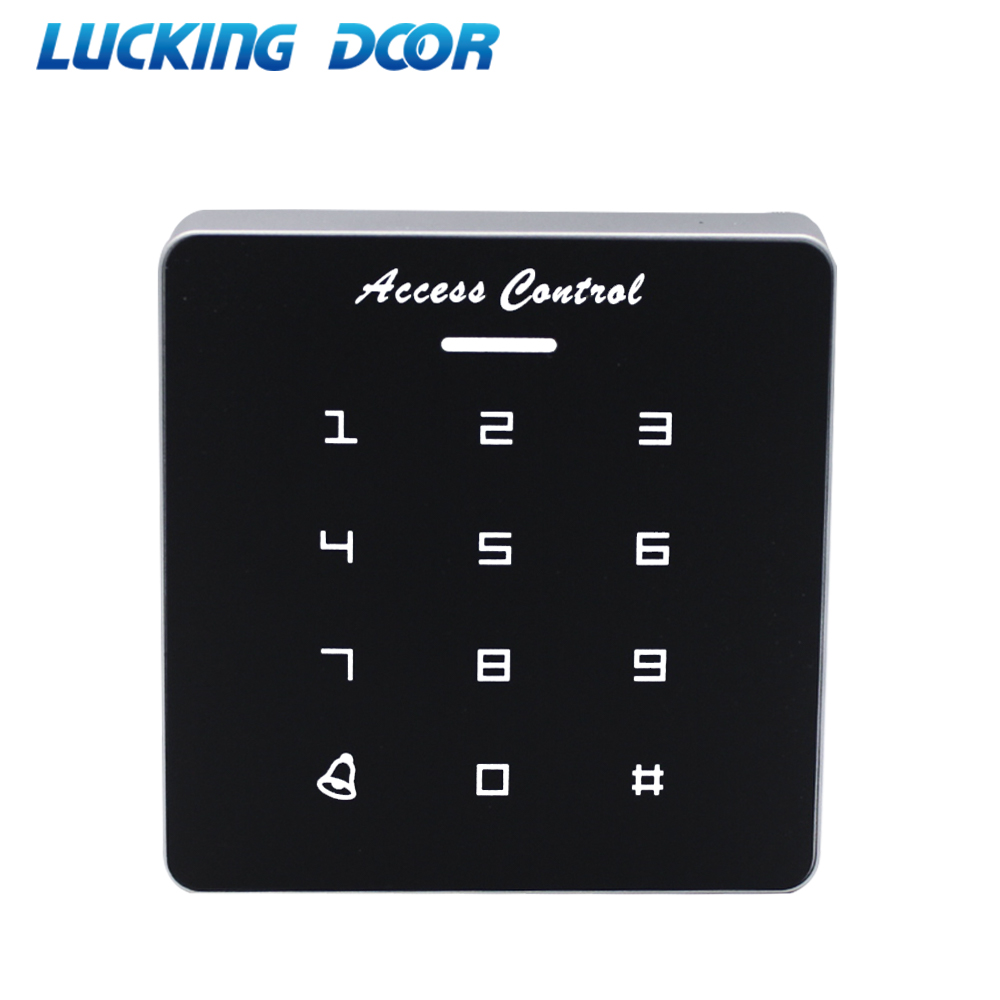 Mini 125Khz RFID Access Control Keypad Card Reader For Door Lock Access Control System Wiegand 26 34 Output 1000Users