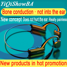 G1 sport bluetooth wireless headset, external ears hanging ears don't hear air bone conduction principle