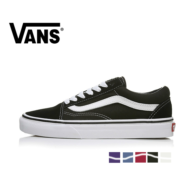 VANS OLD SKOOL Men And Women Shoes Original Authentic Outdoor Sport Multicolor Classic Leisure Series Spring2019 New VN000D3HY28