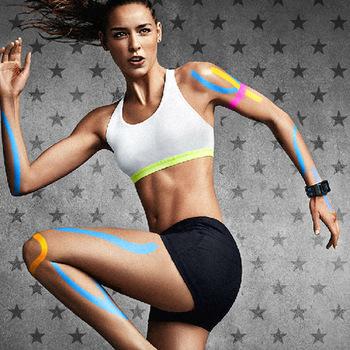 Muscle Patch taśmy sportowe efekt domięśniowy Patch elastyczny bandaż sportowy ochrona ból Patch taśma elastyczna tanie i dobre opinie Boodun