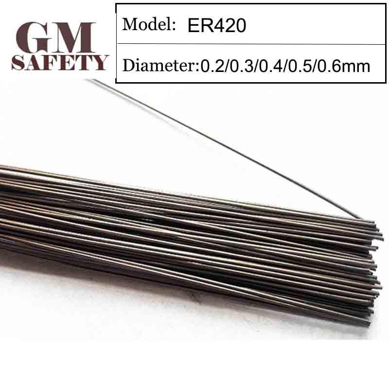 GM Welding Wire Material ER420 of 0 2 0 3 0 4 0 5 0 6mm Mold Laser Welding Filler 200pcs  1 Tube GMER420