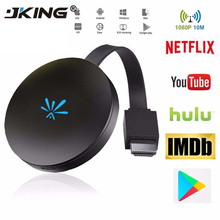 JKING G6 TV Stick 2 4GHz Video WiFi Display Dongle HD Digital HDMI Media Video Streamer