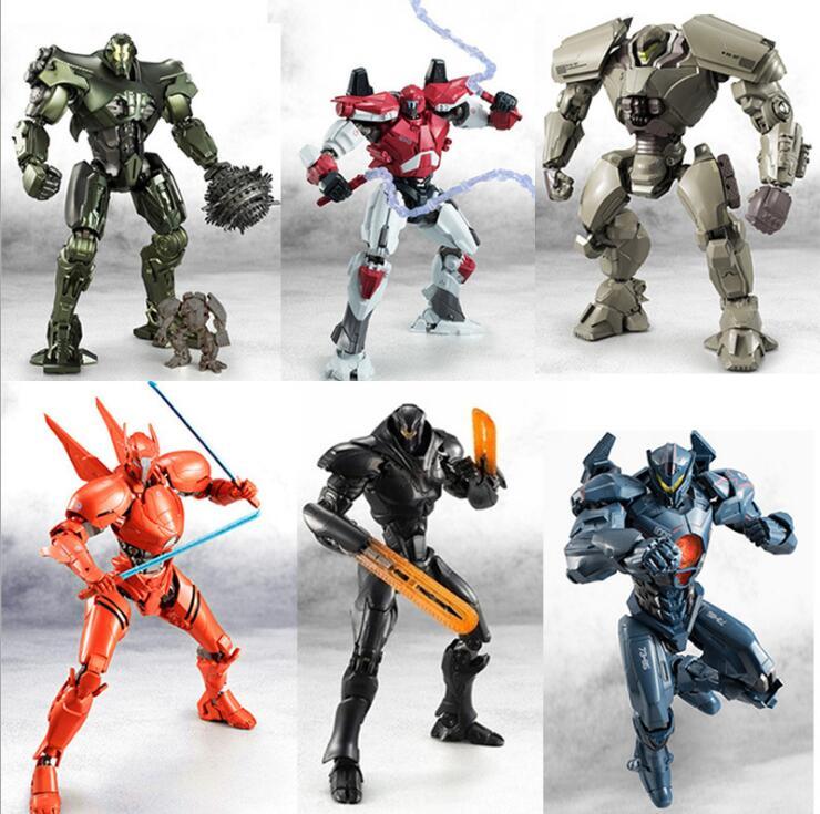 Robot Gipsy Avenger & Saber Athena & Titan Redeemer & Bracer Phoenix Raijin Knifhead & Axehead  PVC BJD Action Figure Toys