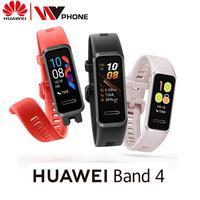 Huawei Band 4 montre intelligente SmartBand contrôle de la musique moniteur de santé de fréquence cardiaque nouvelle montre visages prise USB Charge|Bracelets connectés| |  -