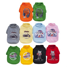 S-XXL Pet Dog Clothes Winter Jacket Fashion Puppy Hoodie Clothing Warm Cat Chihuahua Bulldog Coat For Small Dogs