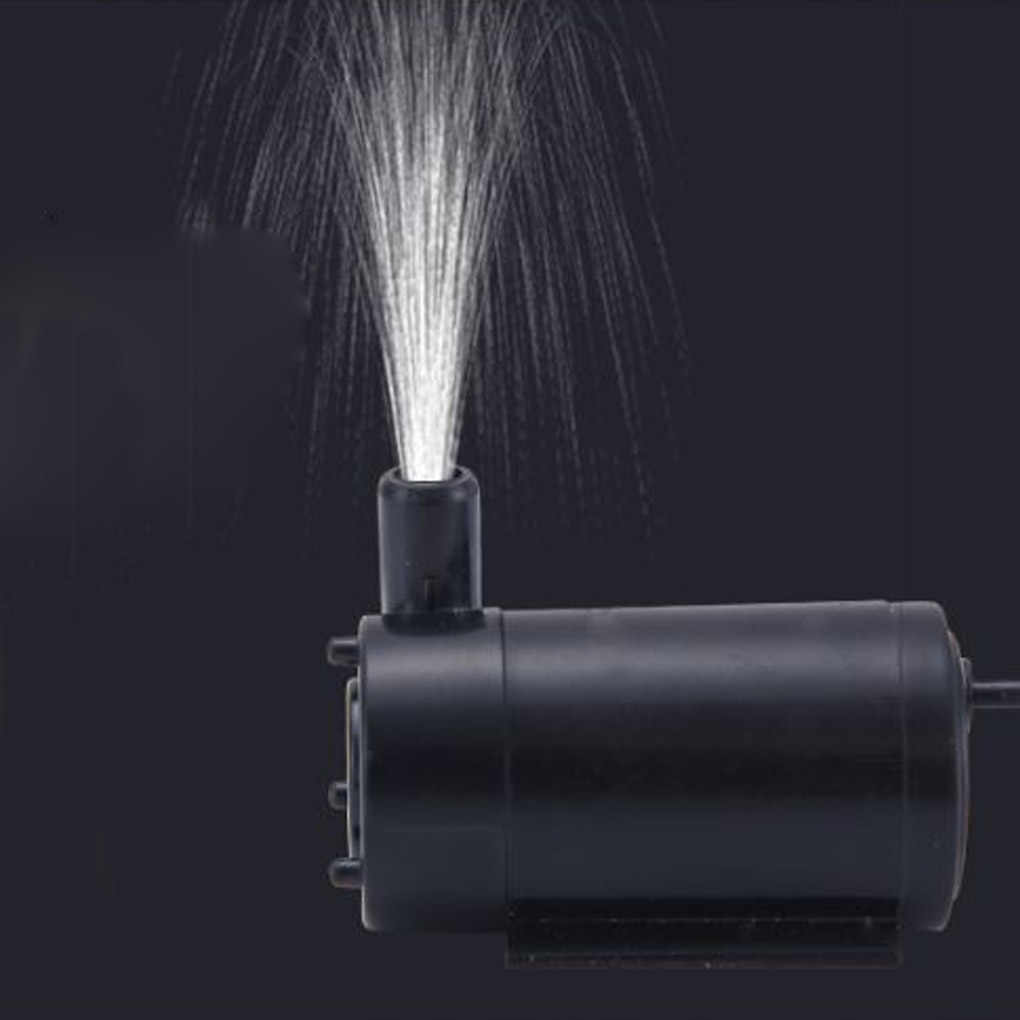 Usb 電源マイクロ水中ポンプミニ水ポンプ水槽水族館噴水 DC 5V 2-3L/分