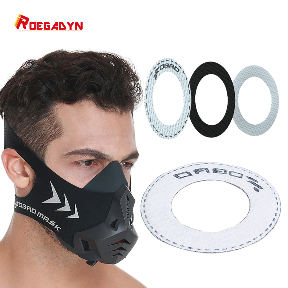 ROEGADYN 3 Layers Filters Breathing Replaceable Cotton Filters Dust Defense Anti Pollution Air Filter For The Sport Mask