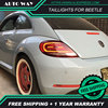 Car Styling case for Volkswagen Beetle 2012-2019 taillights VW Beetle taillight TAIL Lights All LED Rear dynamic turn signal