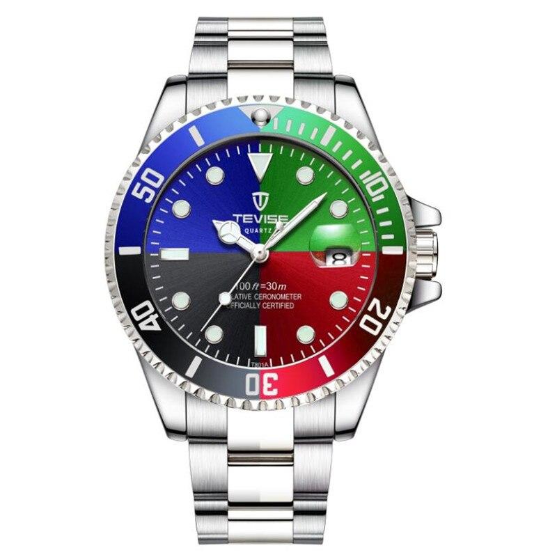 Quartz watch men business watch Mens Watches Top Brand Luxury clock men Male waterproof calendar Relogio Masculino 2019