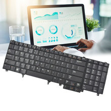 Laptop Notebook Keyboard With Frame for Dell Latitude E6520 E5520 все цены