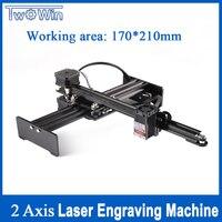 5500mw desktop cnc roteador usb gravador a laser cortador de laser computador automático diy máquina de gravura a laser escultura máquina 17*21cm